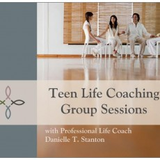 Teen Life Coaching Sessions Postcard (Front)
