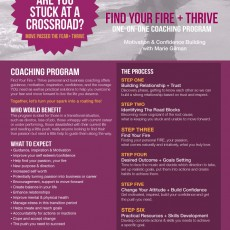 Find Your Fire + Thrive Program